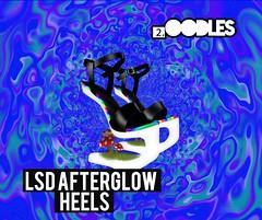 [2.oodles] LSD Afterglow Heels (2.oodles) Tags: mushroom rainbow aura heels shoes shoe heel fashion stoner drugs lsd psychedelic sl accessories