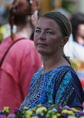 Selling lady  (_MG_5214) (Sisko1235711) Tags: market pretty seller grocery sisko1235711