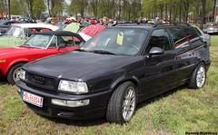 RS2 (The Rubberbandman) Tags: 2 field car station sport sedan germany wagon four se gun parking gray meadow machine lot headlights class turbo german 200 vehicle middle standard audi 80 plain rs avant v8 rs2 sporty quattro bruchhausen vilsen 200se