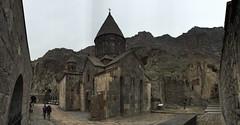 Geghard Monastery , Armenia (Alexanyan) Tags: mountain church cross kirche christian chiesa monastery dome armenia orthodox eglise armenian apostolic armenien armenie caucasia hayasdan armenisch ormeny ormianin