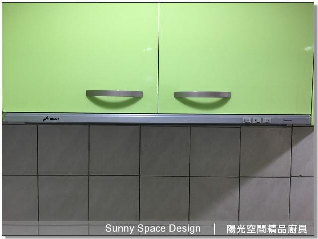 廚具│廚具大王│陽光廚具-汐止福德一路林先生作品257-L型廚具-陽光空間精品廚具