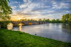 Karlstad II (johan.bergenstrahle) Tags: longexposure bridge sunset architecture creek landscape evening may karlstad bro hdr maj arkitektur landskap 2015 finepics solnedgã¥ng kvã¤ll lã¥ngtid