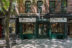McNulty's Tea and Coffee Co. store on Christopher Street, Greenwich Village (ho_hokus) Tags: nyc newyorkcity ny newyork store spring manhattan storefront greenwichvillage christopherstreet 2015 fujix20 fujifilmx20 mcnultrys mcnultysteacoffeco