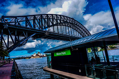 DSC02309 (Damir Govorcin Photography) Tags: bridge sky water point harbour sony sydney milsons a6000