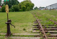 No Trains Today (Light Collector) Tags: ontario canada grass train ties switch weeds railway rails derelict odc stayner clearviewtownship