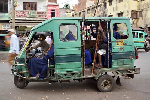 India - Uttar Pradesh - Gorakhpur - Auto Rickshaw - 5