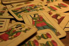 """Carte da gioco """"Romagnole"""" (Alfredo Liverani) Tags: macromondays canong5x canon g5x europa italia italy italien italie emiliaromagna romagna faenza faventia faience faenza2016 card cards odcnowords nowords odc"""