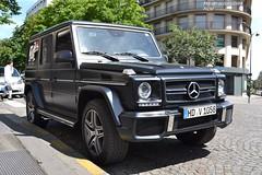 Mercedes G63 AMG (Monde-Auto Passion Photos) Tags: auto paris france mercedes automobile noir 4x4 mat classe amg