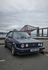 clipper goes forth 15 (route9autos.co.uk) Tags: forth bridges firth edinburgh golf vw volkswagen spotted classic car street clipper