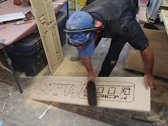 06 Dusting Off Head Parts (thorssoli) Tags: schick hydro robotrazor razor sdcc comiccon sandiego conx entertainmentweekly costume suit prop replica hydrorescue schickhydro