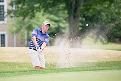 Digging in the Dirt (Rudy Malmquist) Tags: golf watermark country club audi quattro cup 2016 sand trap