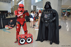 Party ! (GetChu) Tags: los angeles convention center anime expo 2016 ax comic cartoon manga japan japanese culture cosplay cosplayer costume video game console pc star wars darth vader empire sith