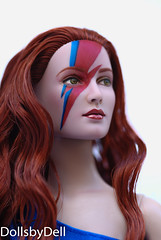 Ziggy Stardust girl doll repaint (zenosparadox) Tags: doll ziggy davidbowie artistdoll ziggystardust aladdinsane tonnerdoll ooakdoll dollrepaint repaintdoll davidbowiedoll ziggystardustdoll shaunadoll ziggydoll dollsbydell aladdinsanedoll