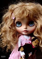 Iriscustom Ooak Blythe Art doll Yuki