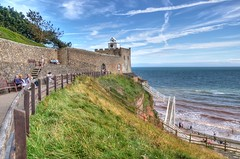 Connaught Gardens & Jacobs Ladder, Sidmouth (Explored) (Baz Richardson) Tags: devon sidmouth connaughtgardens jacobsladder cafes tearooms coast clocktowercafesidmouth explored