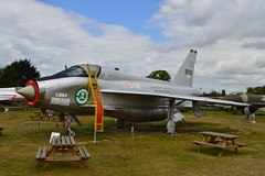 English Electric Lightning T.5555-713 Only complete example in the UK and in full RSAF colours (James L Taylor) Tags: midlandairmuseum coventryairport warwickshire8816 english electric lightning t55 55713 only complete example uk full rsaf colours aircraft museum plane aviation