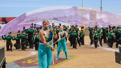 Northeastern at 2016 State Fair Band Day (WayNet.org) Tags: bandday damsels fountaincity indiana indianastatefair indianapolis knights nhs northeastern northeasternwayne statefair band colorguard grandstand marchingband track