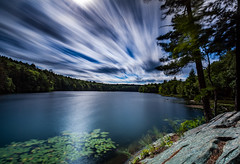 Lake Bonita Blast (KAOS Imagery) Tags: longexposure ny hiking corinth lakebonita leebigstopper