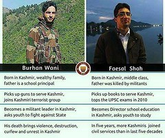 Faisal Shah and Burhan Wani !! Look both Kashmiri Muslim (spsinghbaghel) Tags: news up for election sp join leaders vote recent singh pradesh bjp uttar 2017 firozabad baghel