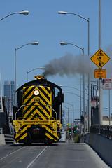 Outta da way! (CN Southwell) Tags: sf san francisco belt bay railway alco s2 street running