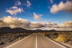 The Road... (Fabio Tode ) Tags: road route strada timanfaya parco nazionale patrimonio mondiale vulcano volcano magma sky street prospettiva prospective fabiotode nikon d7200 sigma 1020 polar gnd filter lanzarote canarie canarias canarian sunset
