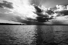 Storming (2) (deanspic) Tags: paddle paddling canoe canoeing storm byfilter g3x 52100 100paddles canoescape cloudscape stlawrenceriver