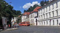 Oranje Boven (Peter ( phonepics only) Eijkman) Tags: city praha praag prague tatra tram transport trams rail rails railways strassenbahn streetcars check republic ing
