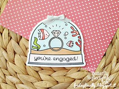 you're engaged LF snowball shaped card (fridayfinally) Tags: lawnfawnstamp lawnfawndies lawnfawn lawnfawnstamps fishes corals seaweeds engagement diamond diamondring underthesea ocean oceansea winkofstella snowglobe minicard card handmadecard clearstamps copicmarkers copic bow silverribbon