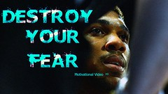 DESTROY YOUR FEAR  Motivational Video 2016  http://youtu.be/k9abJDT2Z_U (Motivation For Life) Tags: destroy your fear  motivational video 2016  motivation for les brown new year change life beginning best other guy grid positive quotes inspirational successful inspiration daily theory people quote messages posters