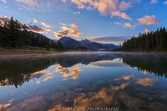 Johnson Lake (Jaykhuang) Tags: sunrise johnsonlake banff banffpark alberta canadianrockies canada reflections jayhuangphotography