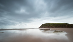 St bees low tide (alf.branch) Tags: sea seaside seawaves seascape beach sand cumbria clouds calmwater refelections reflection stbees olympus zuiko olympusomdem5mkii ziuko918mmf4056ed