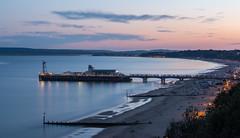 (Attila Pasek) Tags: bournemouth bournemouthpier beach longexposuretime sunset