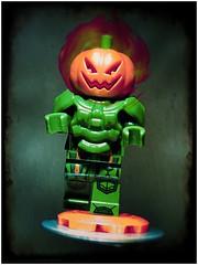 Jack O'Lantern (LegoKlyph) Tags: lego custom jackolantern pumpkin marvel comicbook villain