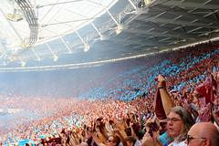 West Ham v Juventus (Rory Llowarch) Tags: westham westhamunited whufc whujuve coyi westhamutd irons theirons hammers thehammers londonstadium olympicstadium olympicstadiumlondon queenelizabetholympicpark qeop london londonengland england english englishheritage englishhistory englishfootballfans englishfootball englishpremierleague epl juventus juventusfc jfc juve juventusfootballclub seriea italian italianfootball lavecchiasignora football footballfans footballstadiums footballgrounds footballteams footballclubs soccer soccergrounds soccerstadiums soccerclubs soccerteams lafidanzataditalia lamadama ibianconeri lezebre lasignoraomicidi lagoeba sportclubjuventus fireworks sunshine sunny summer summertime stadiums