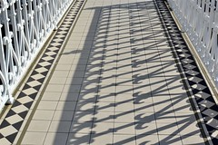2016-08-12: Bandstand Shadows (psyxjaw) Tags: brighton beach august summer friday afternoon holiday sun bandstand band railings shadow