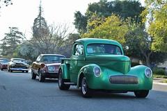 20th Annual La Verne Cool Cruise (USautos98) Tags: 1941 willys pickuptruck gasser hotrod streetrod custom