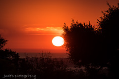 What a welcoming to wake up to (judethedude73) Tags: sunrise dawn mornning sunlight sun light orange sky skies colours color colors colourful eastbourne ratton east sussex
