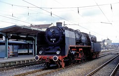 50 245  Tbingen  18.11.92 (w. + h. brutzer) Tags: tbingen dampfloks steam eisenbahn eisenbahnen train trains railway deutschland germany lokomotive locomotive zug 50 efz dampflok webru analog nikon