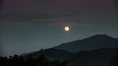 View from the roof top - Full Moon after the Mid Autumn Festival (Keith Mulcahy) Tags: keithmulcahy blackcygnusphotography mountains sky moon midautumnfestival yuenlong pingshan hongkong