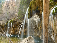 Hanging Lake with Waterfalls (Thank You Please Photography) Tags: lake green nature beauty relax landscape waterfall moss spring colorado calm cliffs waterfalls glenwoodsprings waterscape hanginglake glenwoodcanyon