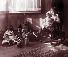 Toys & Florence McNish -- New Year's Day 1917 (JFGryphon) Tags: toys dolls teddybear anson toyanimals mcnish christmastoys westonontario christmas1916 florencemcnish newyearsday1917