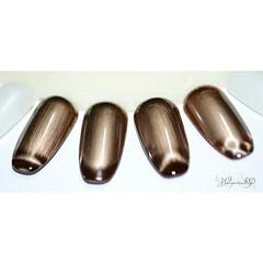 Testando com ims de outras marcas s nas pontinhas! (Walquiria R.P.) Tags: nails nailart degrade magneticos