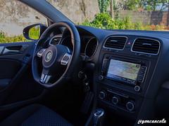 Interior-1 (Gon Cancela) Tags: car vw golf volkswagen coruña galicia coche oleiros tsi mkvi mk6