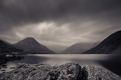 Mute (daveadam84) Tags: longexposure lake mountains clouds vintage mono still silent welding lakedistrict cumbria nd wastwater greatgable weldingglass yewbarrow 10stop