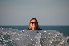 Tête sur l'eau