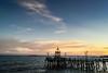 Balikpapan Sunset (GlobalGoebel) Tags: ocean sunset sea beach water indonesia restaurant pier east oceans resto timur iphone kalimantan balikpapan kaltim iphoneography iphone6