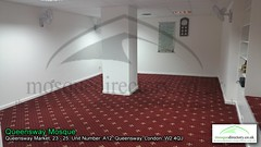 Queensway Mosque (Queensway, Westminster, London) (mosquedirectory) Tags: london mosque queensway bayswater 2325 queenswaymarket w24qj unitnumbera12