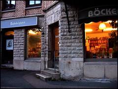 Scouting for Second Hand Bookshops in Göteborg (swenwüllter) Tags: göteborg book sweden books bookstore bookshop bookstores libreria librerias antikvariat