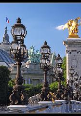 Pont Alexandre III / Grand Palais (Aviller71) Tags: paris france architecture frankreich architektur pontalexandreiii grandpalais
