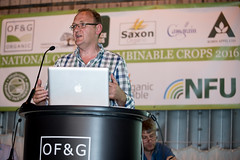 NOCC16 - Paul Moore Organic Trade Board (ofgorganic) Tags: food barley butterfly farmers bees wheat farming rye seeds machinery organic agriculture clover cereals sustainable legumes biodiversity certification millers retailers ofg